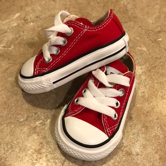 acd3def69087e8 Converse Other - Converse All Star infant sz 2 EUC